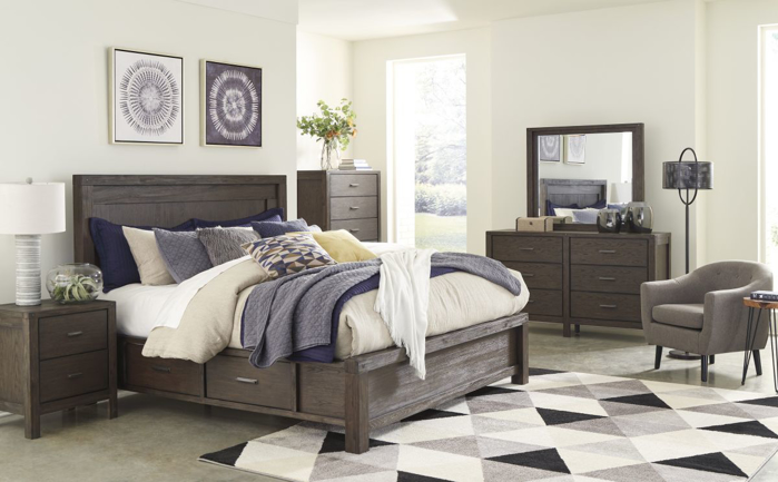 Picture of Dellbeck Queen Size Bed