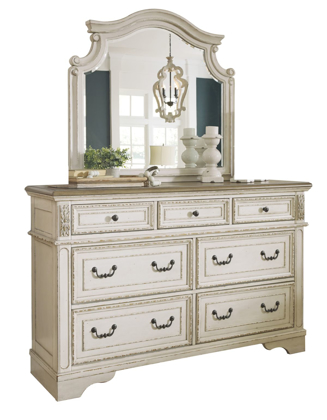 Picture of Realyn Dresser & Mirror