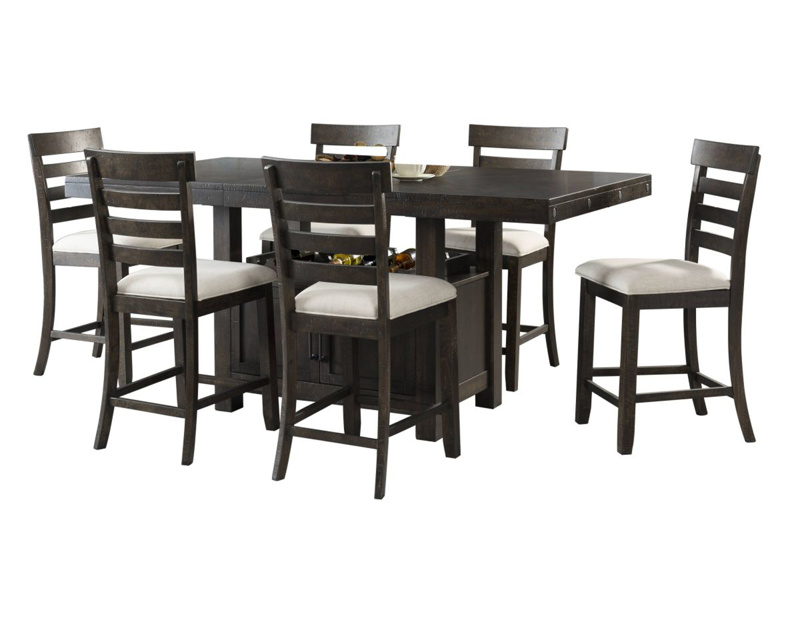 Picture of Colorado Pub Table & 6 Stools