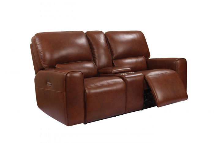 Picture of Shae Broadway Reclining Power Loveseat