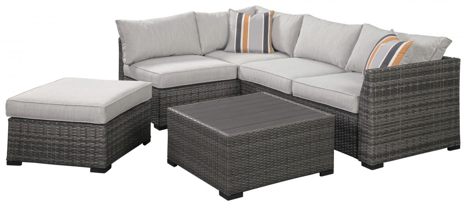 Picture of Cherry Point Patio Sectional, Ottoman & Table
