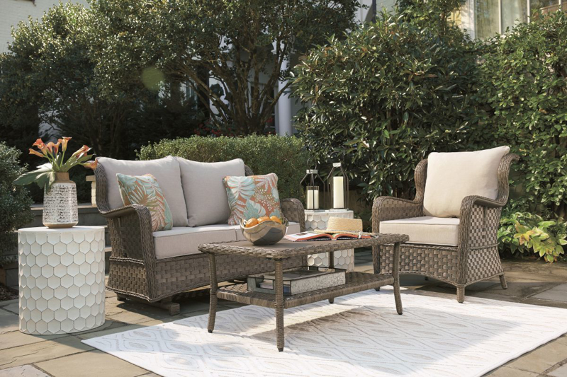 Clear Ridge Patio Loveseat