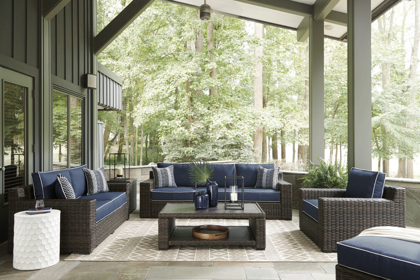 Picture of Grasson Lane Patio Ottoman