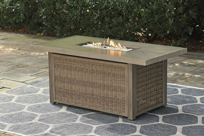 Beachcroft Patio Fire Pit Table