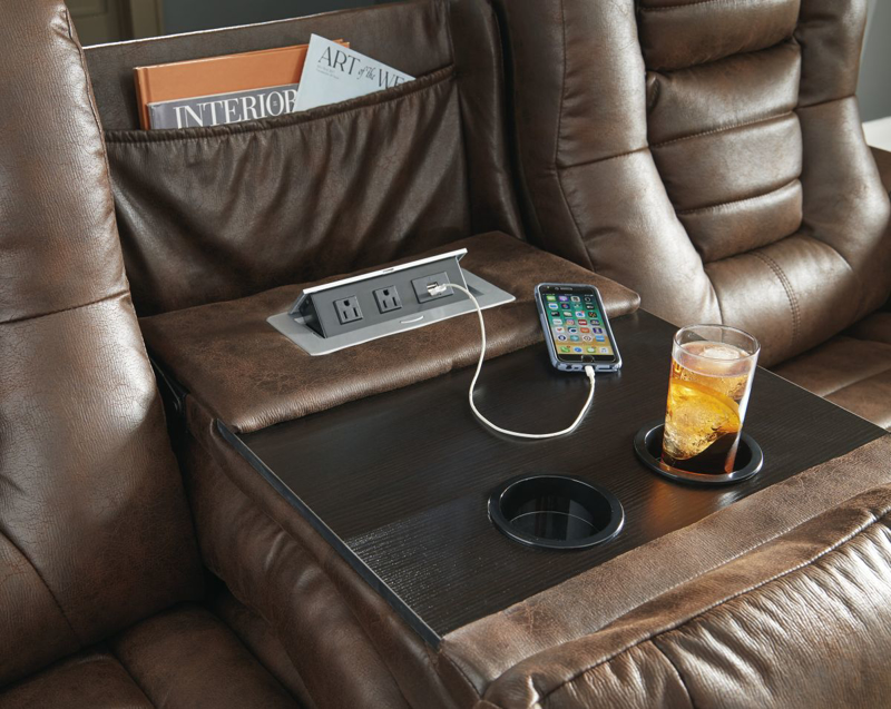 Owner's Box Reclining Power Sofa