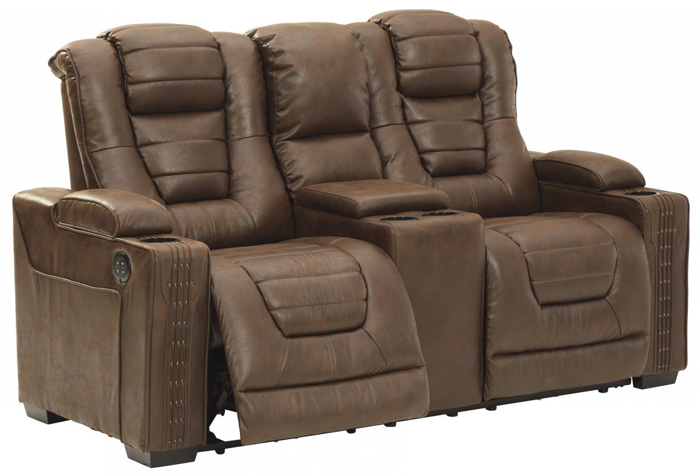 Picture of Owner's Box Reclining Power Loveseat