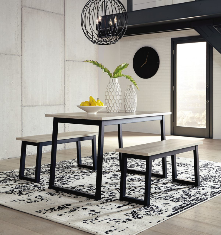 Waylowe Table & 2 Chairs
