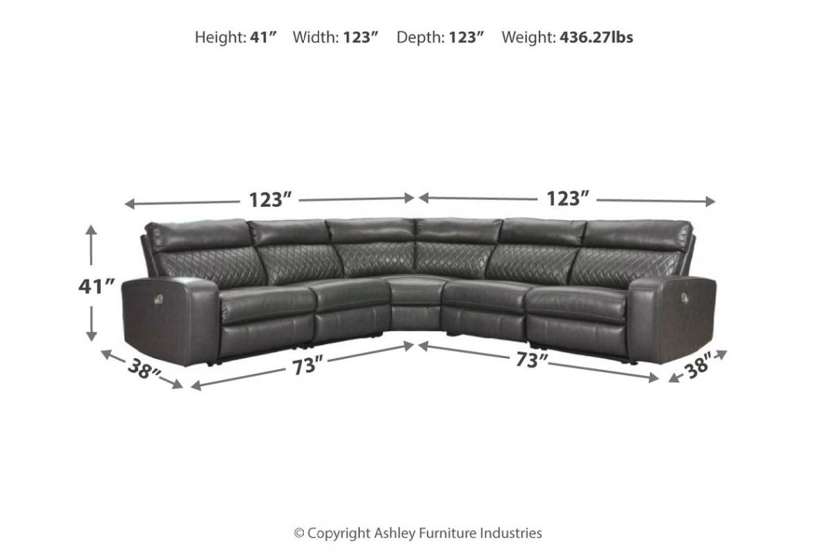 Picture of Samperstone Reclining Power Sectional