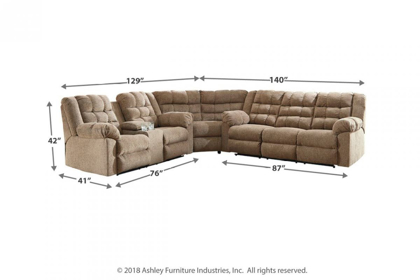 Picture of Workhorse Reclining Sectional
