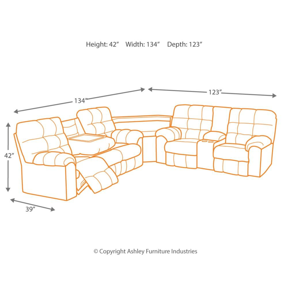Picture of Acieona Reclining Sectional