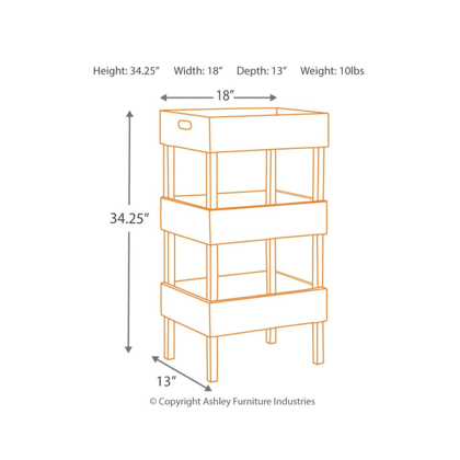 Picture of Yulton Accent Shelf