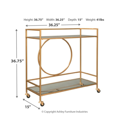 Picture of Jackford Bar Cart