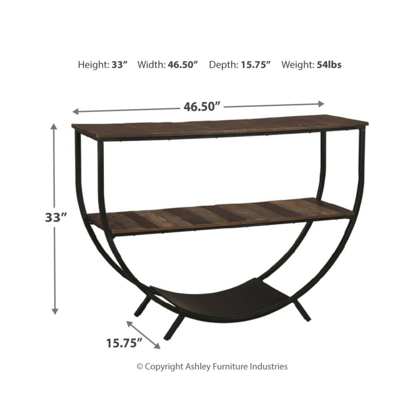 Picture of Lamoney Console Sofa Table