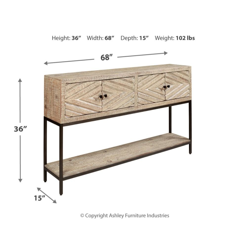 Picture of Roanley Console Sofa Table