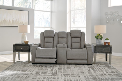Picture of The Man-Den Reclining Power Loveseat