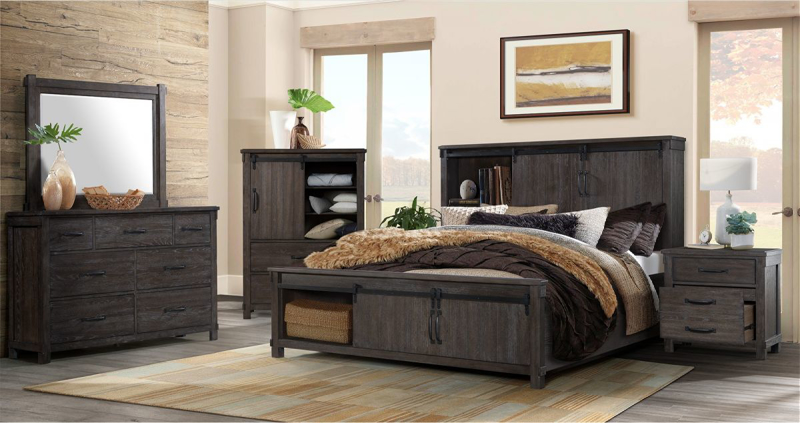 Scott King Size Bed