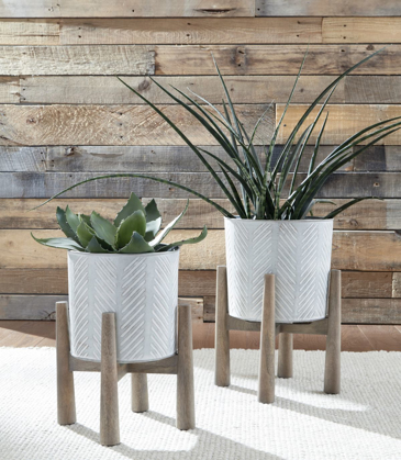 Picture of Domele 2 Piece Planter Set