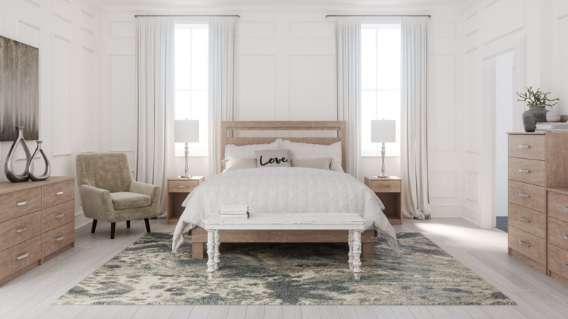 Flannia Queen Size Bed