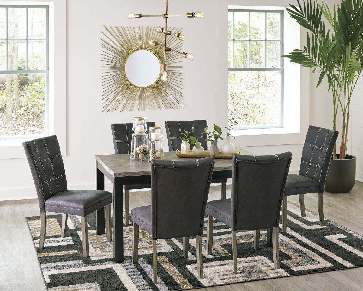 Picture of Dontally Table & 6 Chairs