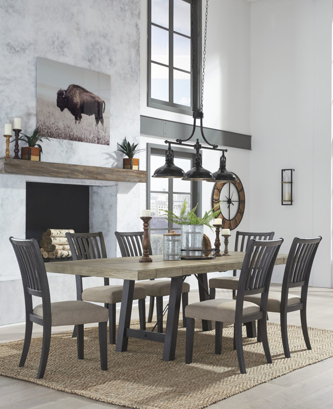 Baylow Table & 6 Chairs