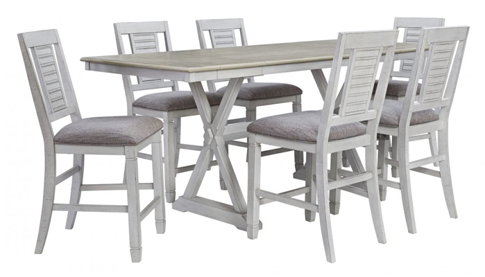 Picture of Teganville Pub Table & 6 Stools