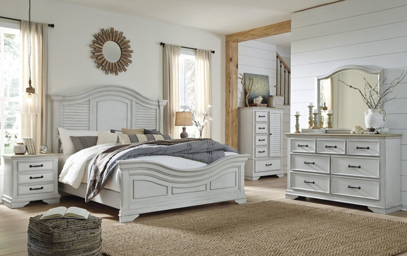Teganville King Size Bed