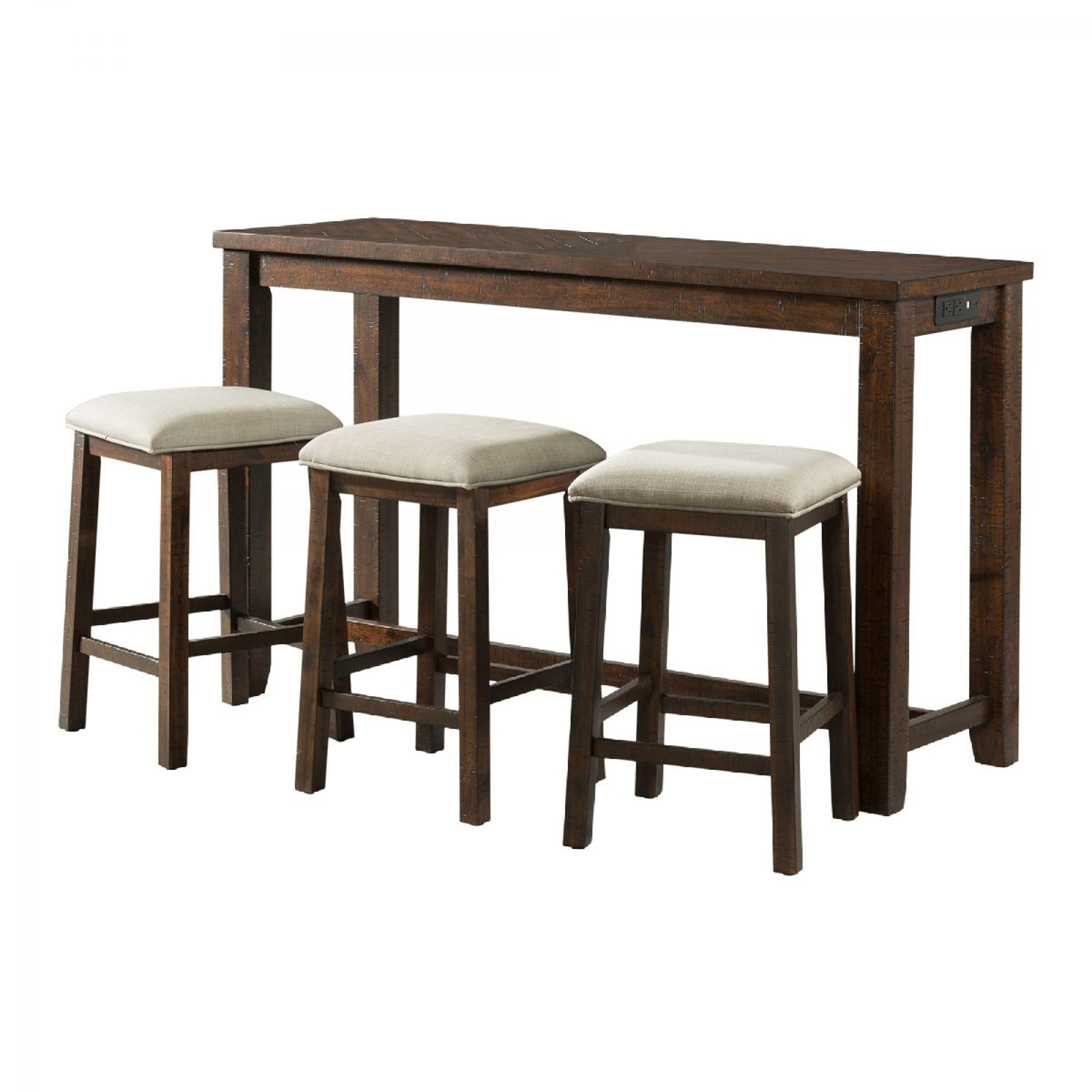 Picture of Jax Pub Table & 3 Stools