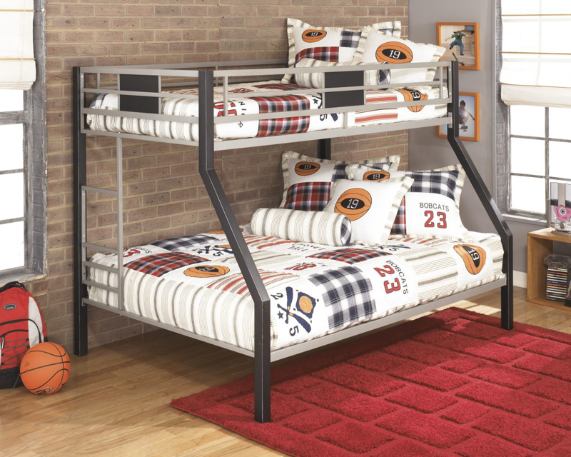 Dinsmore Bunkbed with Mattresses