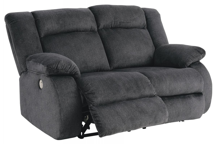 Picture of Burkner Reclining Power Loveseat