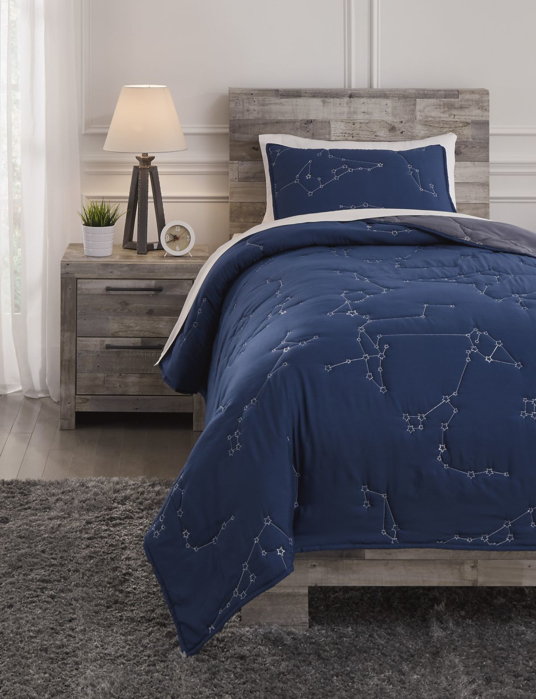 Picture of Ekin Twin Quilt Set