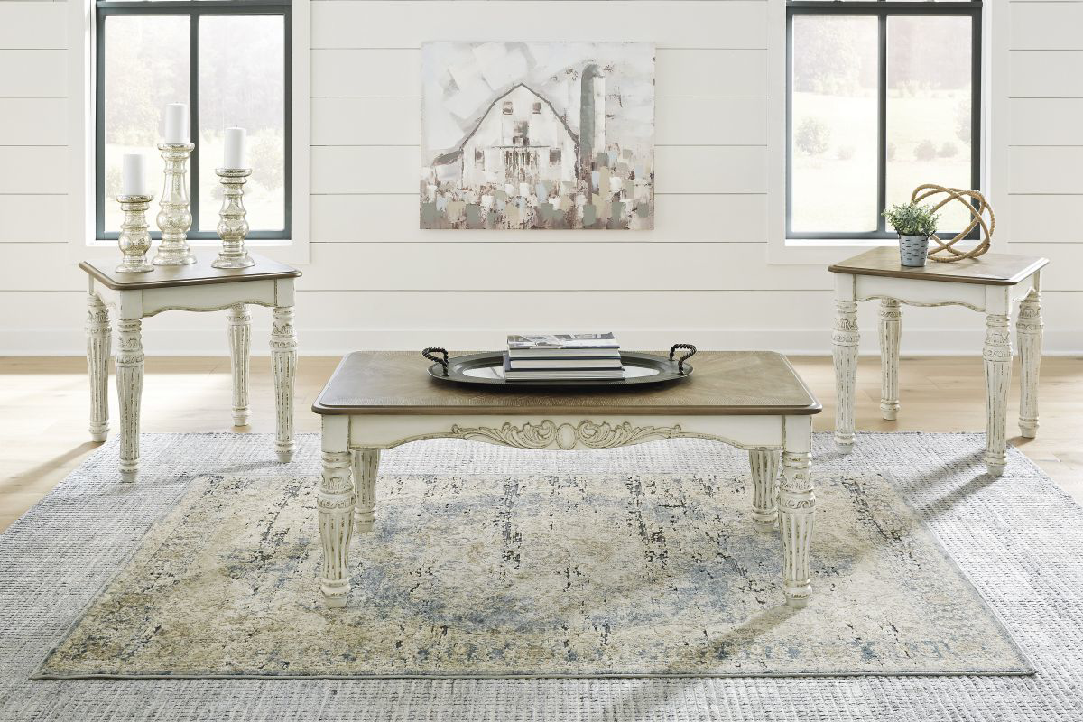 Picture of Realyn 3 Piece Table Set