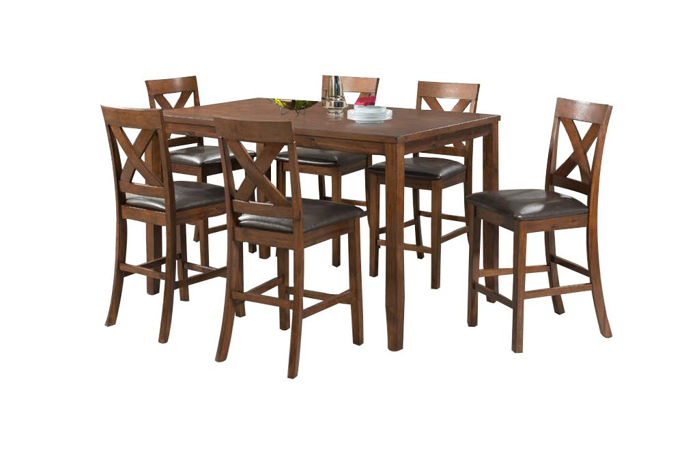 Picture of Alex Pub Table & 6 Stools