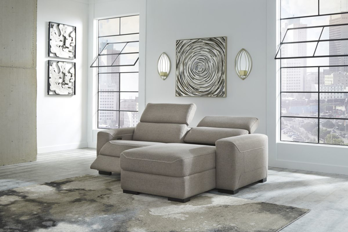 Picture of Mabton Reclining Power Sofa Chaise