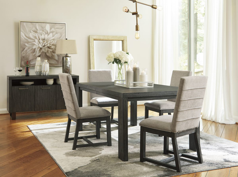 Bellvern Table & 4 Chairs