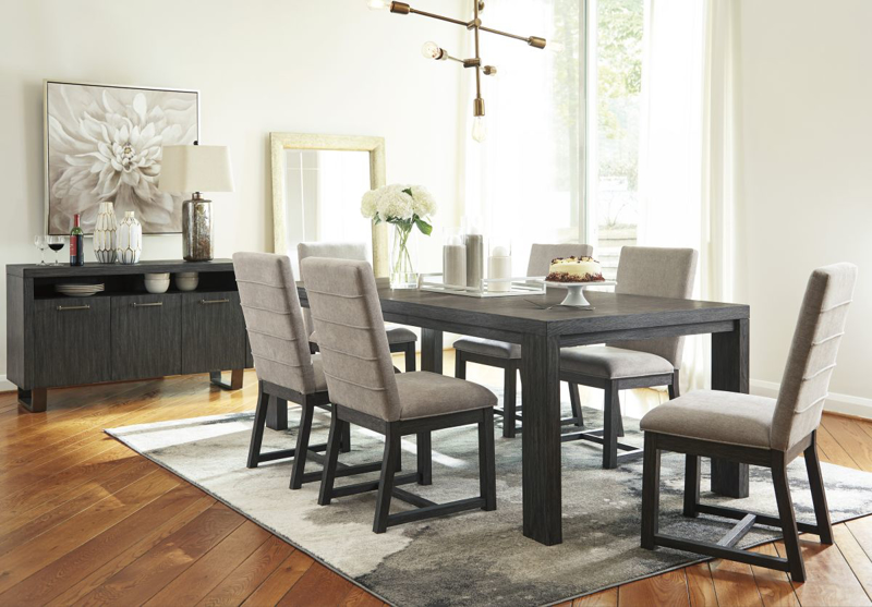 Bellvern Table & 6 Chairs