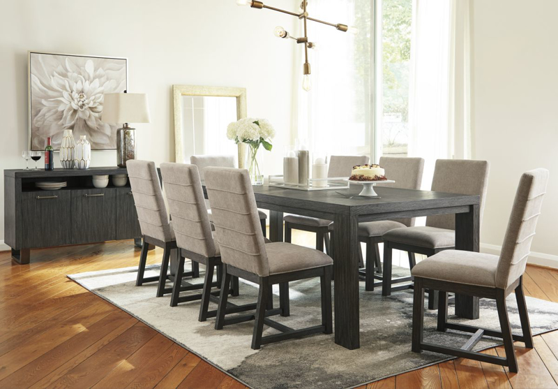 Bellvern Table & 8 Chairs