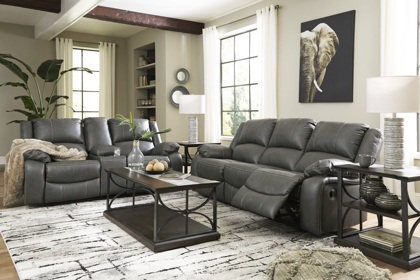 Picture of Calderwell Reclining Power Loveseat