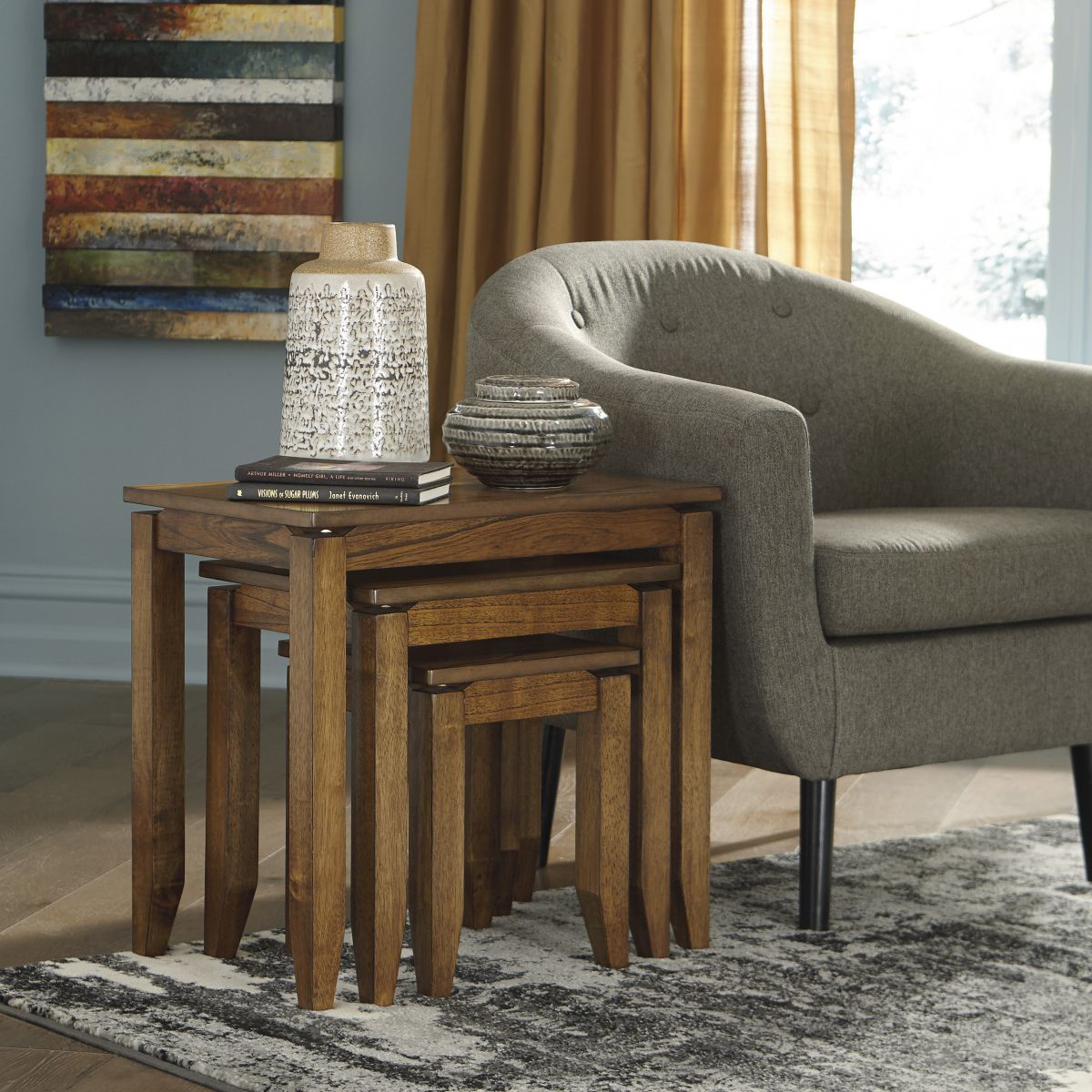 Picture of Brentmond 3 Piece Accent Table Set