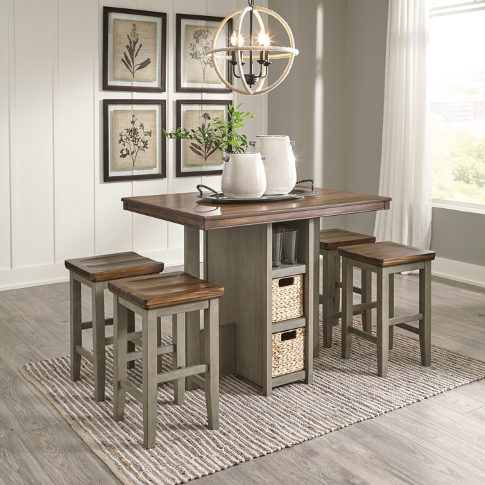 Picture of Lettner Pub Table & 4 Stools