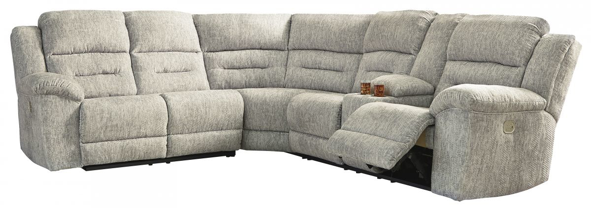 Picture of Family Den Reclining Power Sectional