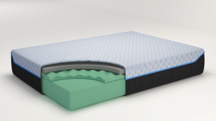 Picture of Gruve 10in Cal-King Mattress