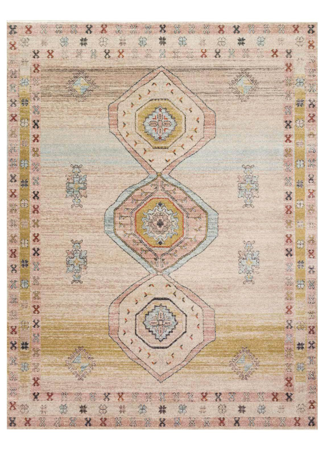 Picture of Graham Antique Ivory/Multi Large Rug