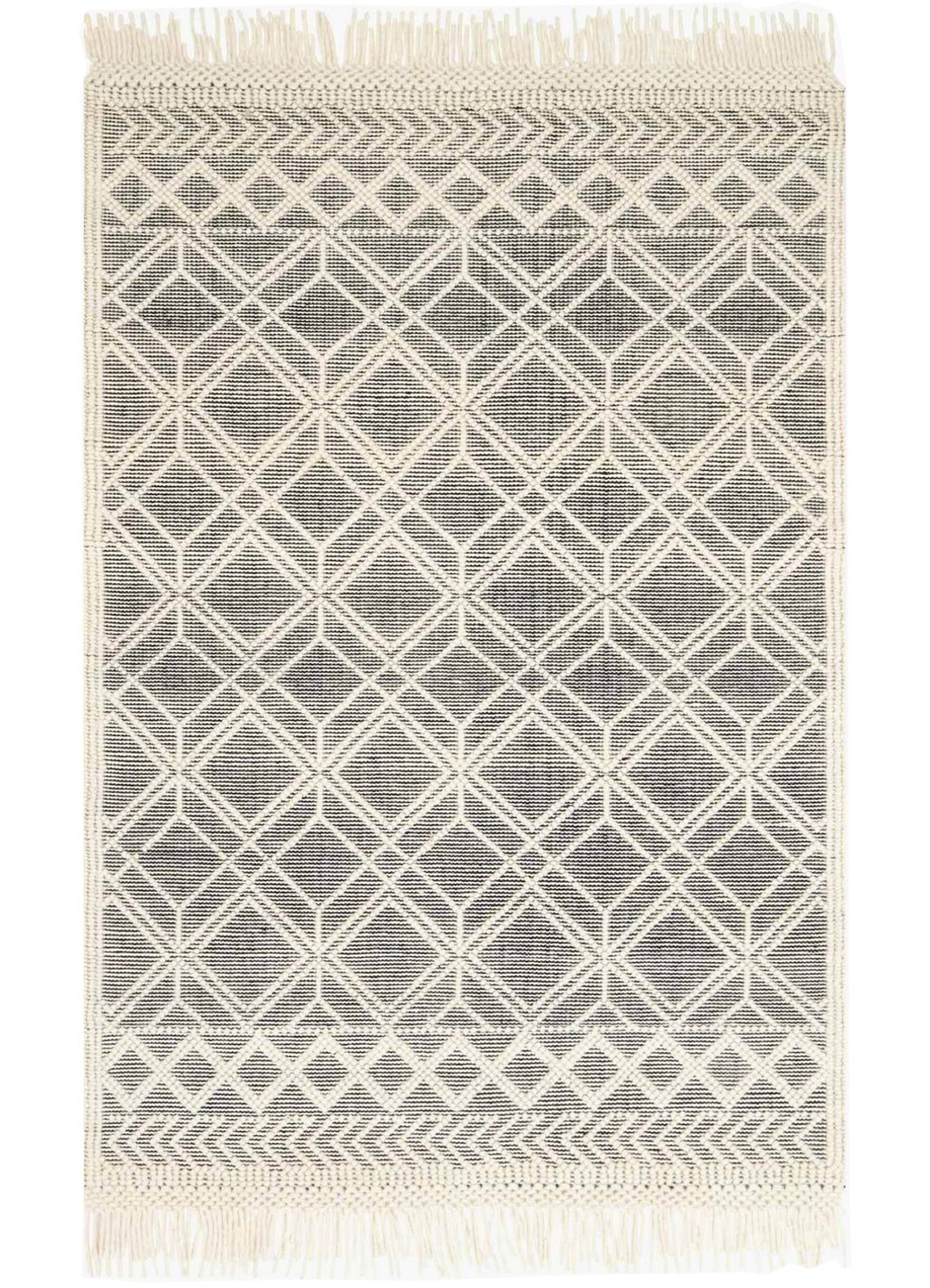 Picture of Holloway Black/Ivory Large Rug