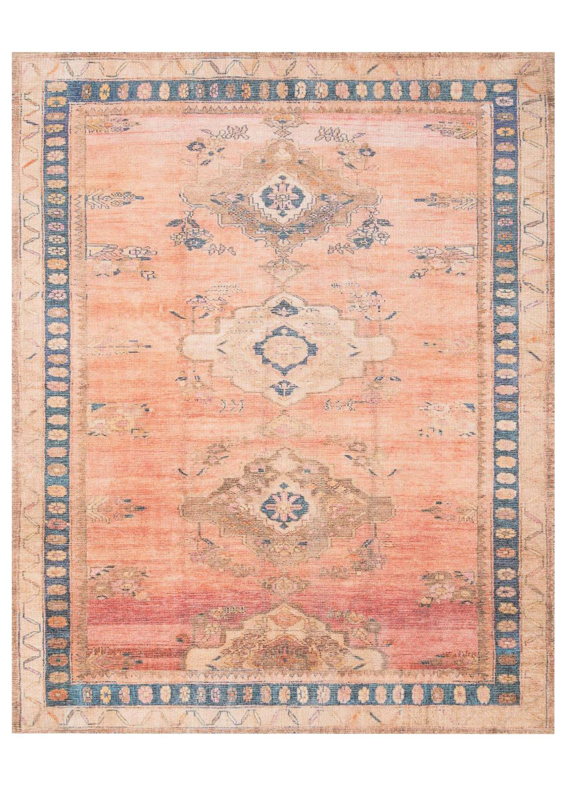 Picture of Deven Sunset/Indigo Large Rug