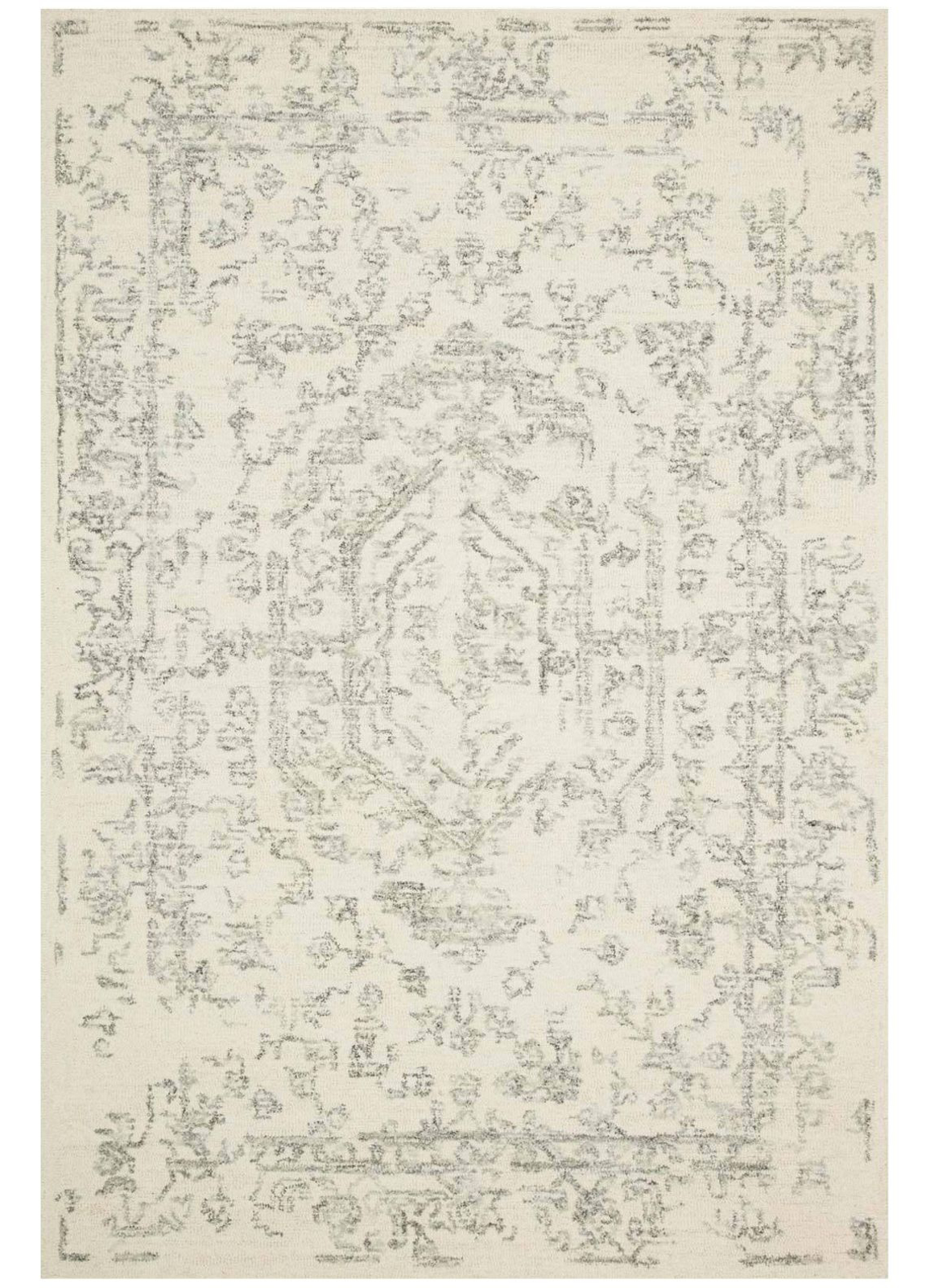 Picture of Annie White/Grey Medium Rug