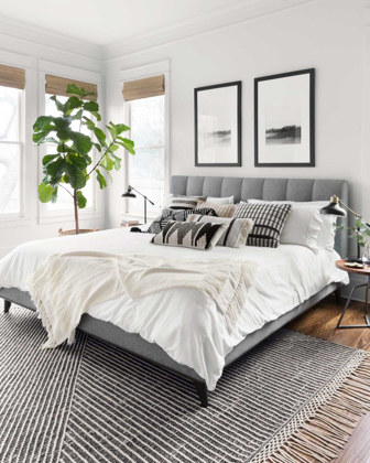 Picture of Newton Charcoal/Ivory Medium Rug