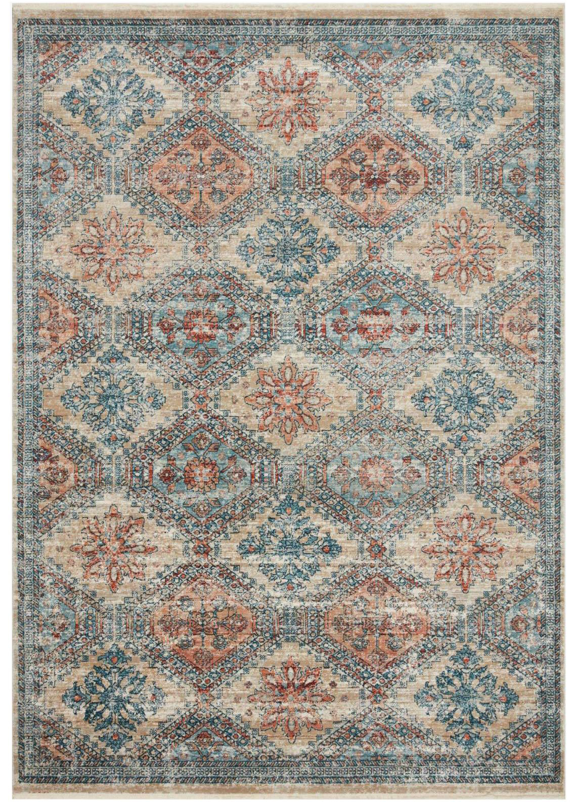 Picture of Elise Multi/Blue Large Rug