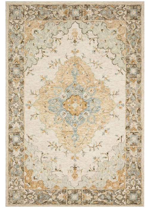 Picture of Ryeland Ivory/Multi Medium Rug