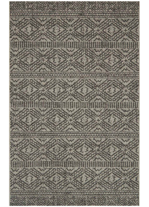 Picture of Warwick Silver/Black Large Rug