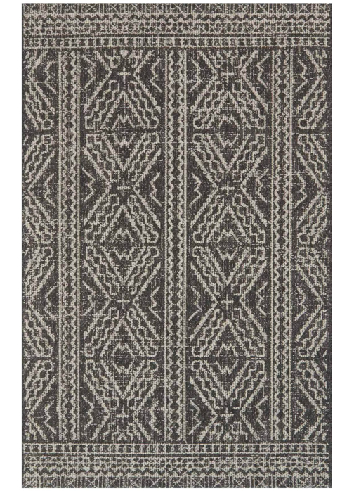 Picture of Warwick Black/Silver Medium Rug